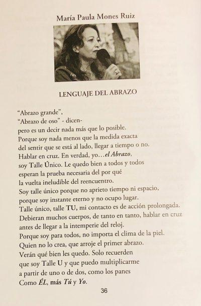 ANTOLOGÍA RUBÉN VELA POEMA DEL ABRAZO
