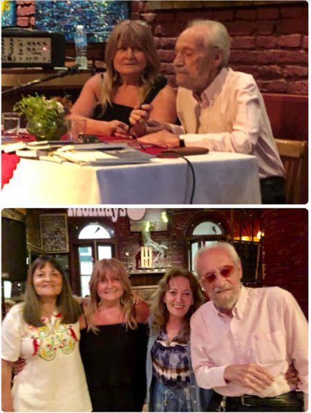 1- María Julia Druille, Marcos Silber 2- Liliana Lapadula, Mmaría Julia Druille, María Paula Mones Ruiz, Marcos Silber